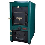 Water to air heat exchanger application - outdoor wood furnace