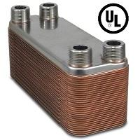 3x8 brazed plate heat exchanger