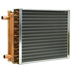 12 X 12 Aluminum Finned Copper Coil Water To Air Heat
