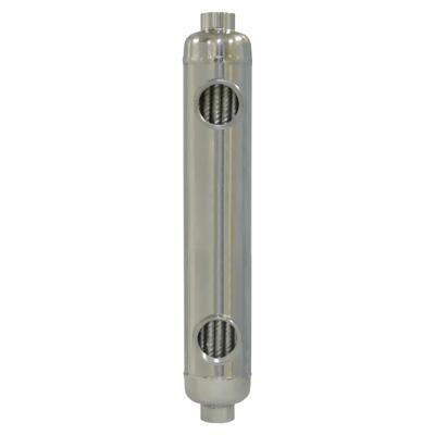 55 Kbtu Stainless Steel Shell Amp Tube Heat Exchanger Pool